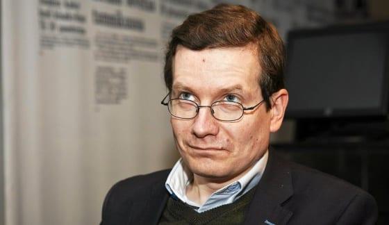 Vastaava päätoimittaja Kaius Niemi. Valokuva Roni Rekomaa