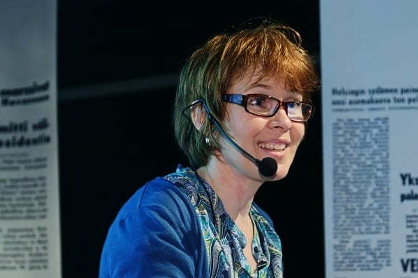 Tutkija Elina Noppari