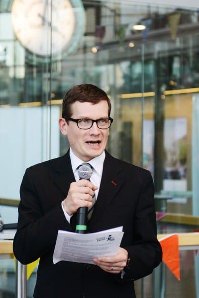 Helsingin Sanomain Säätiön hallituksen puheenjohtaja Kaius Niemi