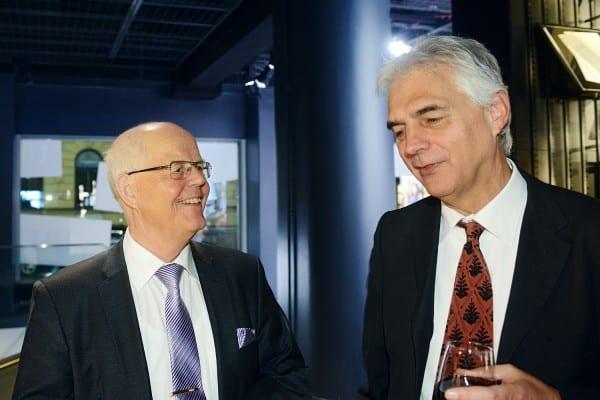 Gustav Björkstrand ja Guy Berger.