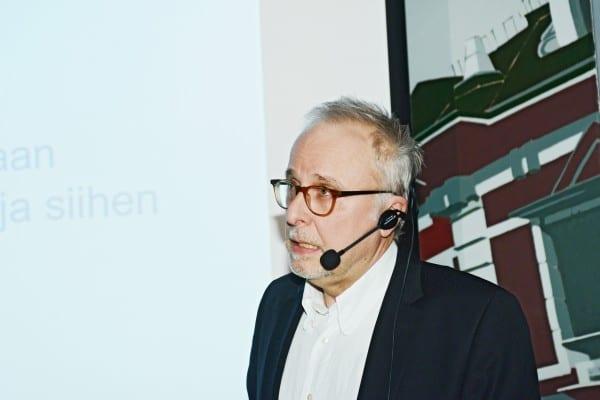 Tutkija Esa Sirkkunen, Tampereen yliopisto.