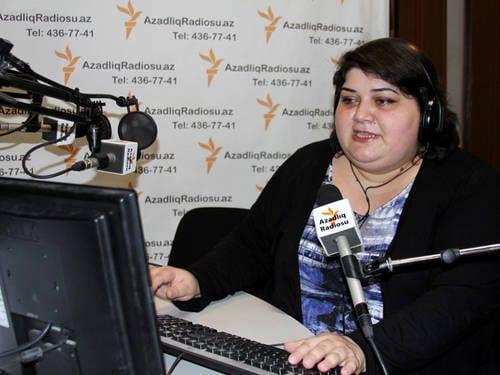 Khadija Ismayilova (kuva Unescon sivuilta)