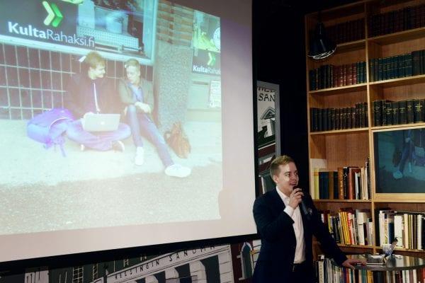 Juhani Mykkänen kertoi, miten luodaan menestyksekkäitä innovaatioita.