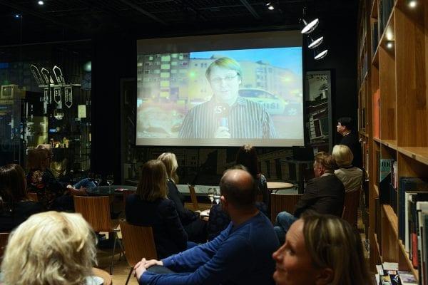 Jussi Niemeläisen videotervehdys WPI-ohjelmasta.