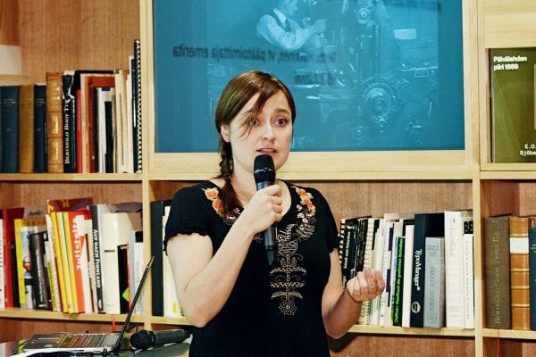 Tutkija Reetta Hänninen.